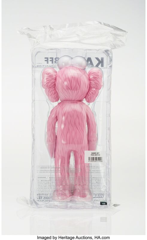 KAWS, 'BFF (Pink)', 2017, Other, Painted cast vinyl, Heritage Auctions
