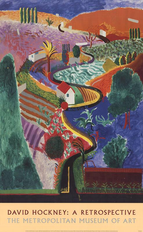David Hockney, 'Nichols Canyon', 2003, Ephemera or Merchandise, Offset Lithograph, ArtWise