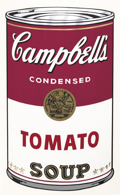 Andy Warhol, 'Tomato Soup, fromCampbell's Soup I', 1968, Print, Screenprint in colors, on smooth wove paper, Gallery Red