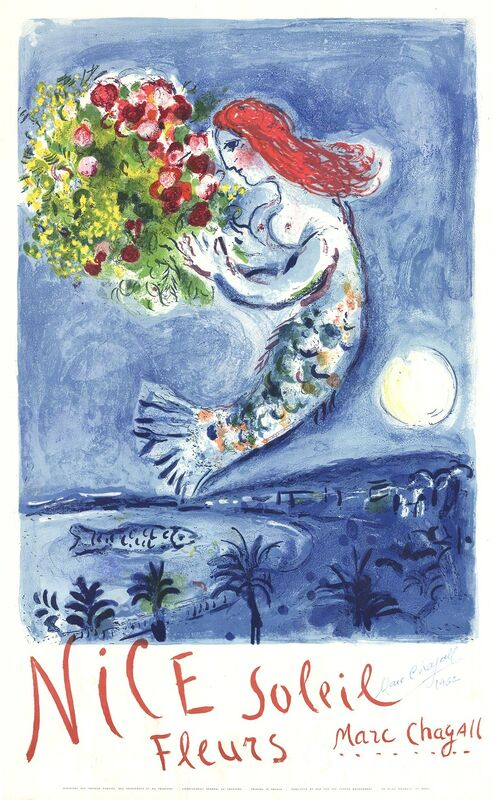 Marc Chagall, 'Bay of Angels', 1962, Print, Lithograph, ArtWise
