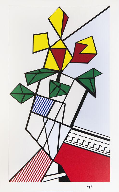 Roy Lichtenstein, 'Flowers', 1973, Print, Screenprint, Shapero Modern