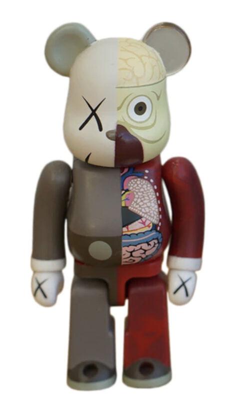 KAWS, 'KAWS DISSECTED COMPANION: 100% BE@RBRICK BROWN', 2010, Sculpture, Vinyl, Marcel Katz Art