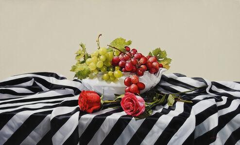 "Jesus Navarro, '""Grapes and Roses""', 2017"