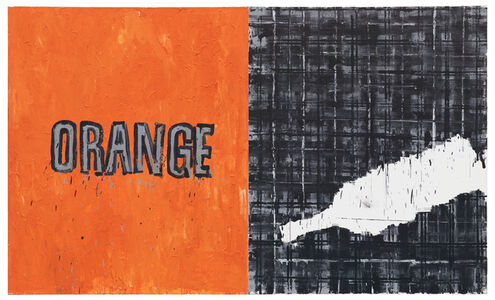 Troels Wörsel, 'Orange & Scotch (diptych)', 1983