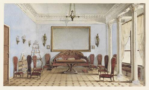 A. Redkovsky, 'Salon Interior', ca. 1858