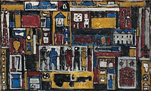 Julio Alpuy, 'Constructivo', 1950
