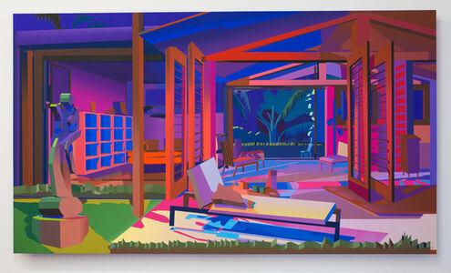 Jonathan Chapline, 'Backyard Patio', 2019