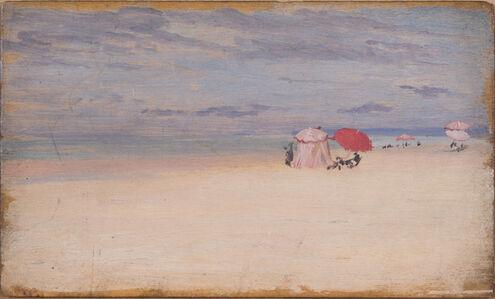 ÉCOLE FRANÇAISE DU XXe SIÈCLE, 'Scène de plage'