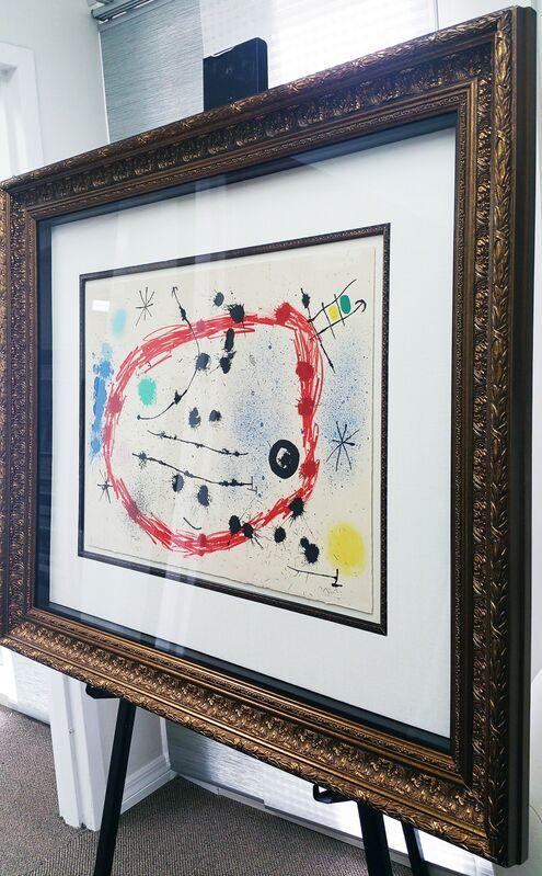 Joan Miró, 'Broken Circle', 1964, Print, Color lithograph on paper, Baterbys