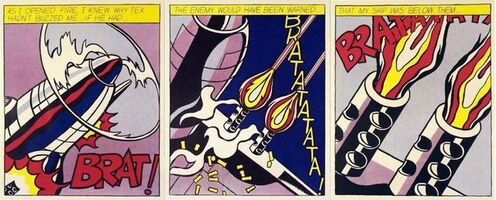Roy Lichtenstein, 'As I Opened Fire', ca. 1968-2000s