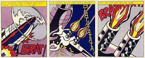Roy Lichtenstein, 'As I Opened Fire', ca. 1968-2000s
