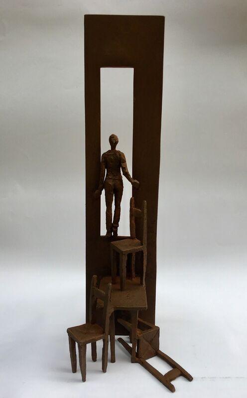 Beatrice Bizot, 'Tables et chaises', 2018, Sculpture, Bronze, Anquins Galeria
