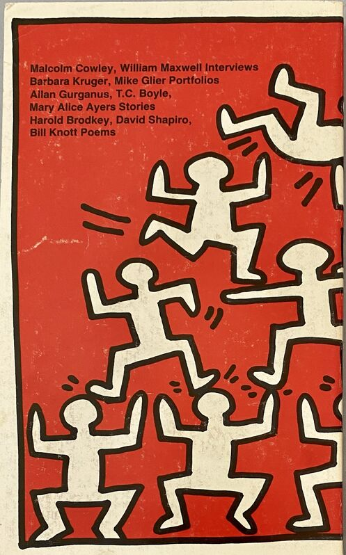 Keith Haring, 'Keith Haring The Paris Review 1982', 1982, Ephemera or Merchandise, Offset illustrated book cover, Lot 180