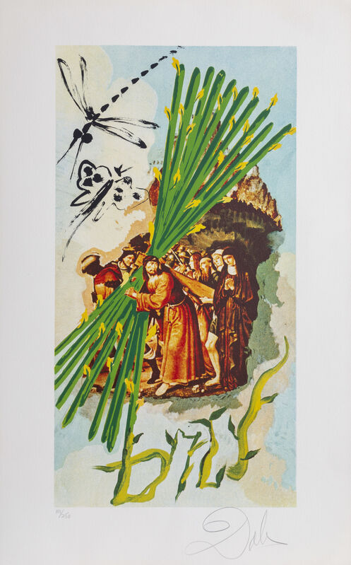 Salvador Dalí, 'Ten of Staves', 1978, Print, Lithograph, RoGallery