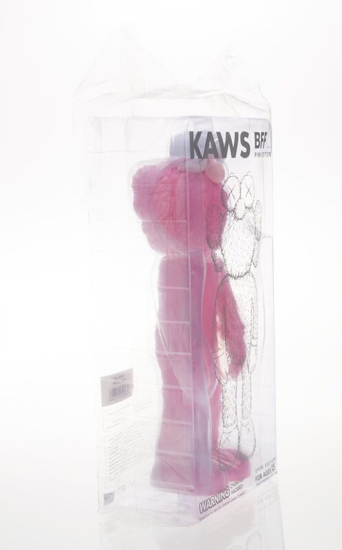 KAWS, 'BFF Companion (Pink)', 2018, Sculpture, Painted vast vinyl, Heritage Auctions
