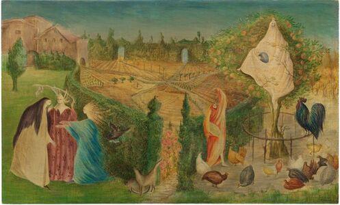 Leonora Carrington, 'The Kitchen Garden on the Eyot', 1946
