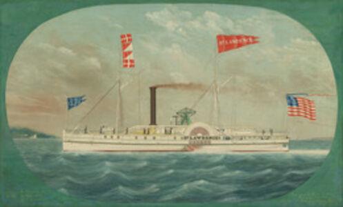 """James Bard, 'Steamer """"St. Lawrence""""', 1850"""