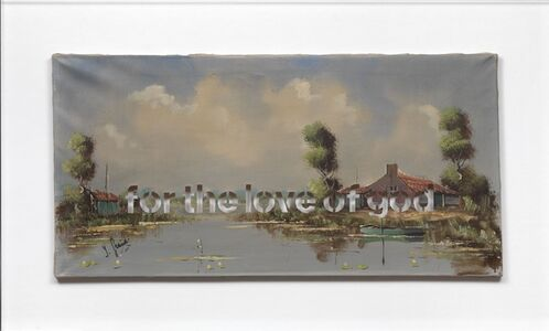 Amikam Toren, 'Armchair Painting - Untitled (for the love of god)', 2010