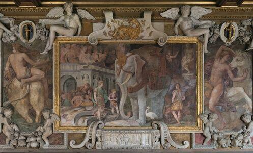 Rosso Fiorentino, 'L'Éléphant Royal (The Royal Elephant)', 1528