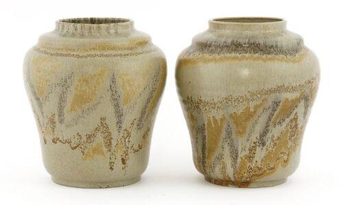 Annette Ball, 'A pair of Carter Stabler Adams vases'