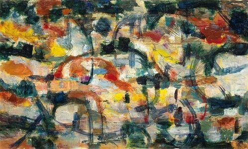 Renato Birolli, 'Studio per amore della vigna', 1956