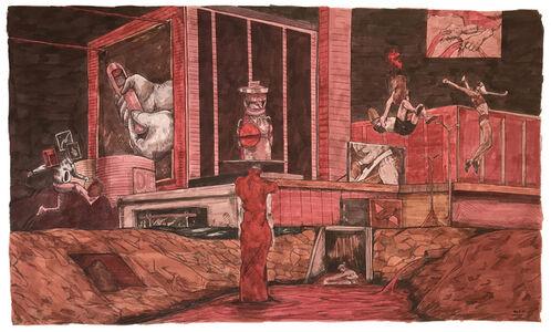 William Buchina, 'Scenery in Red #3', 2019