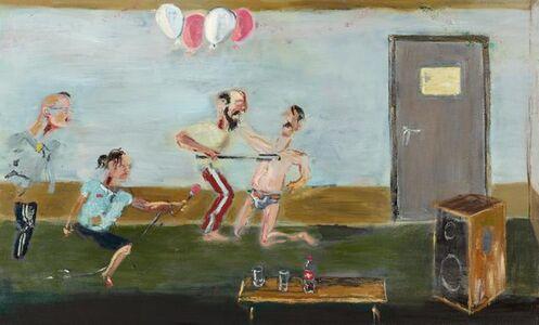 Aaron van Erp, 'Children's party where critical journalists aren't welcome', 2012