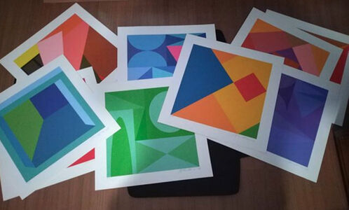 "Antonio Peticov, 'Album ""New 2019 Geometrics""', 2019"