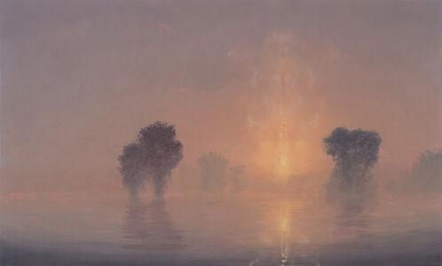 Stephen Hannock, 'Flooded River / Summer Dawn (Mass MoCA #194)', 2013