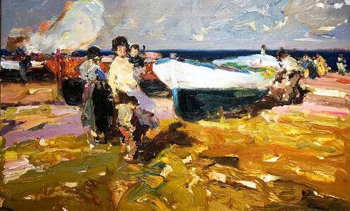Giner Bueno, 'La Tarde', 1990