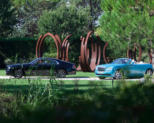 ROLLS ROYCE Art Drive 2016 with BOCCARA ART, installation view