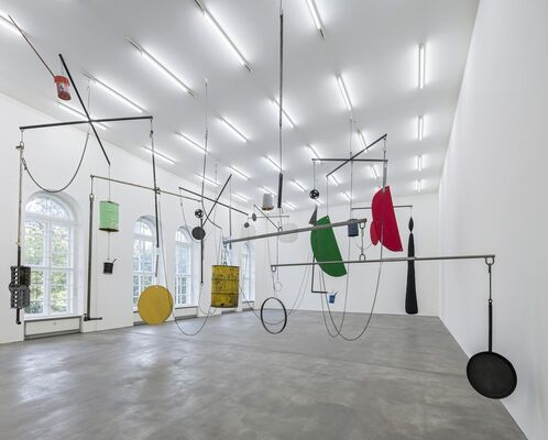 Sterling Ruby - The Jungle, installation view