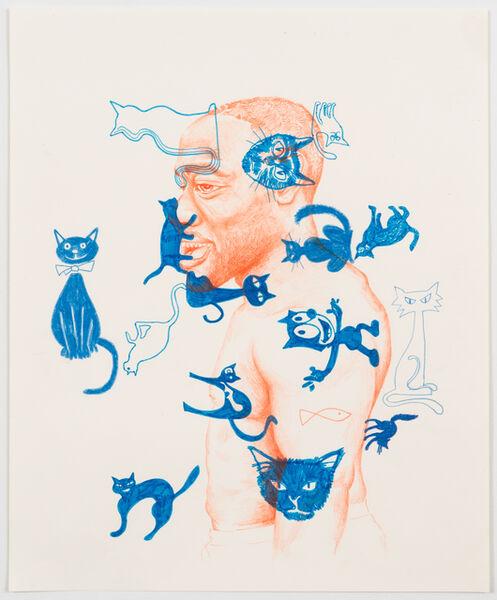 Brian DeGraw, 'Man With Fish Tattoo', 2019