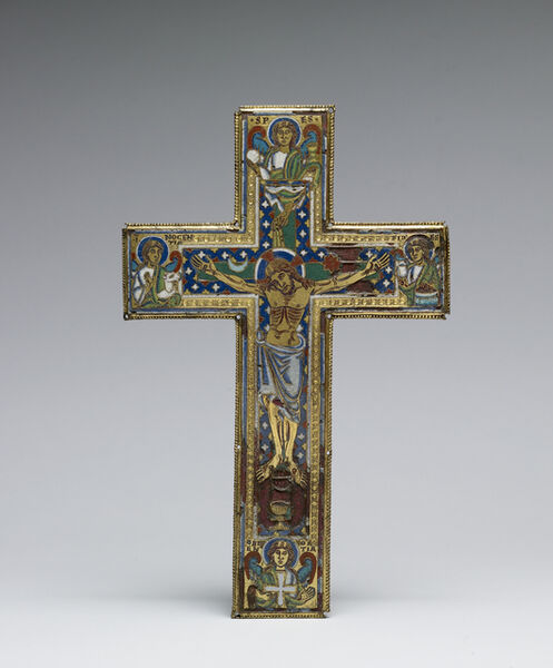 Mosan Workshop, 'Reliquary Cross', ca. 1150-1175