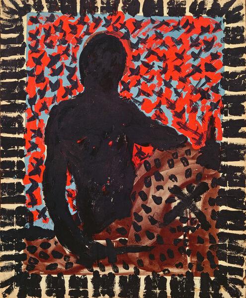 "A.R. Penck, '""TM Mike Hammer""', 1974"
