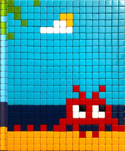 Invader, 'Mission Miami', 2012
