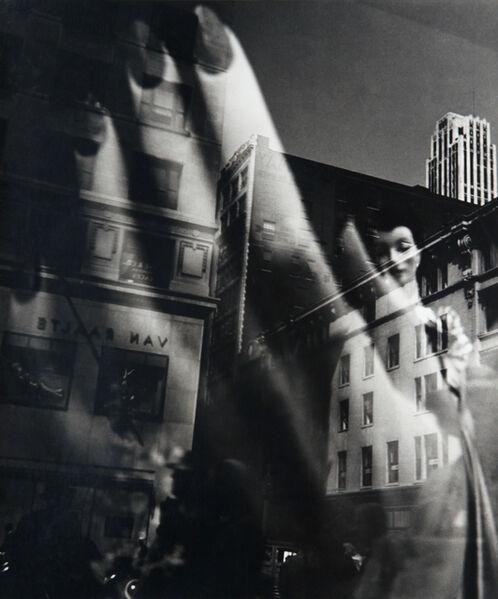 Lisette Model, 'Reflections, New York', 1939-1945