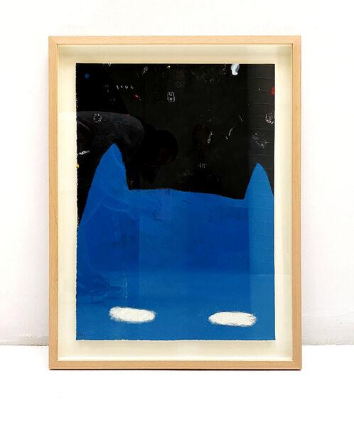 Edgar Plans, 'Blue Mask', 2019