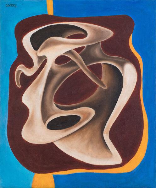 Charles Alston, 'Mirror Image', 1949