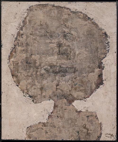 Jean Dubuffet, 'Tête en tache de moisissure', 1950
