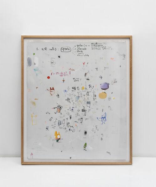 Edgar Plans, 'Art notes: Space', 2020