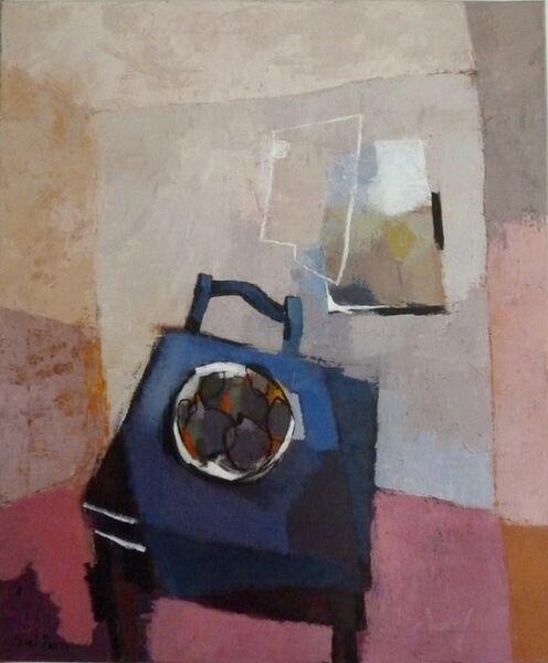 Sarah Picon, 'Table à la Nappe Bleue', 2016