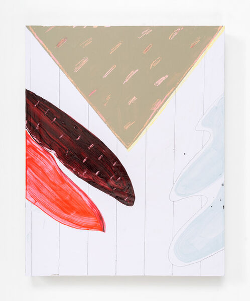 Jessica Simorte, ' Untitled (Crimson Left Leaf)', 2016