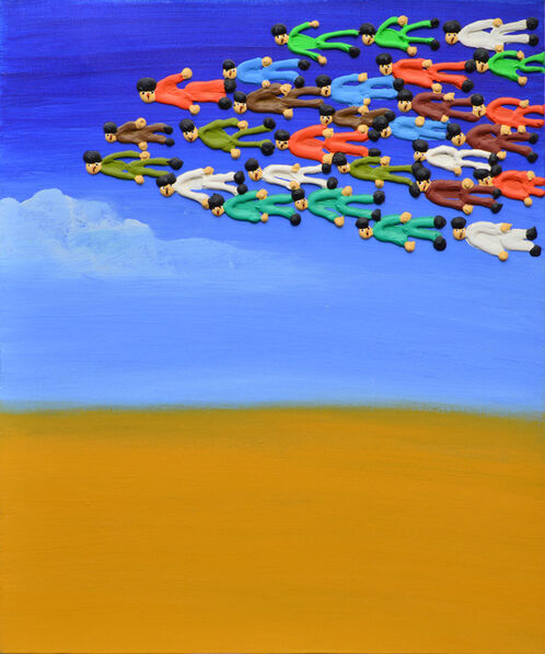 Qin Fengling, 'Flying', 2005