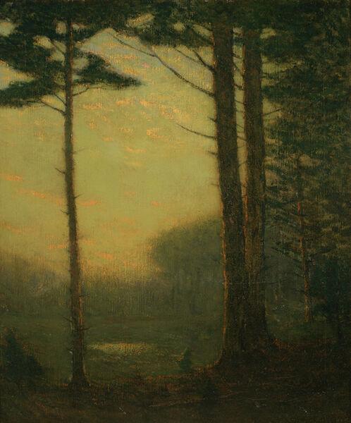 Charles Warren Eaton, 'Sunset Pines', ca. 1910