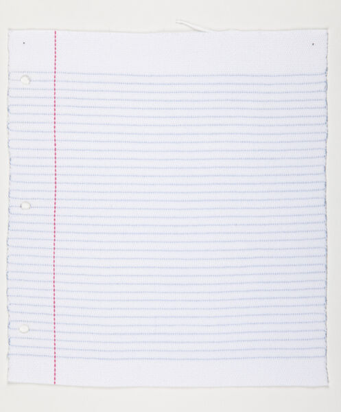 Kristin Nelson, 'Lined Paper', 2012
