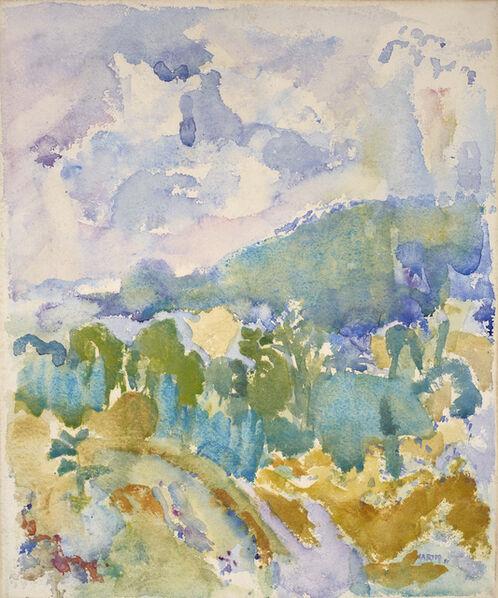 John Marin (1870-1953), 'Hudson River Valley', 1911