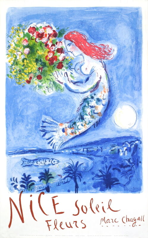 Marc Chagall, 'Bay of Angels', 1962, Ephemera or Merchandise, Stone Lithograph, ArtWise