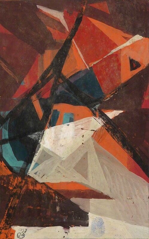 Joseph Lacasse, 'Composition', 1937, Drawing, Collage or other Work on Paper, Gouache on paper, Whitford Fine Art