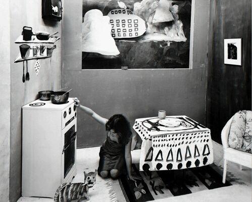 Vintage Studio Photographs, installation view